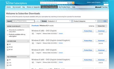 Microsoft Volume License release windows 8 rtm posts to both volume licensing service center technet msdn kurt