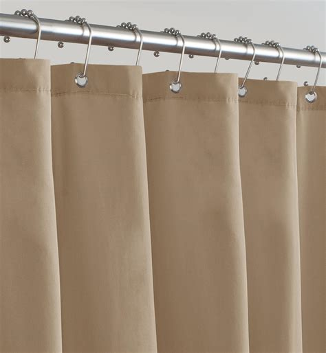 microfiber shower curtain liner com maytex soft microfiber water repellent fabric