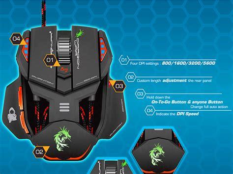 Mouse Gaming War war ele g4 phantom usb gaming mouse