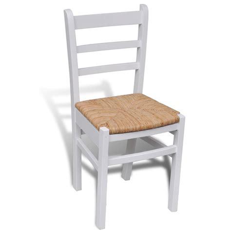 tavola e sedie articoli per sedia da tavola legno bianco 6 pz vidaxl it