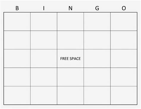 6 best images of 4x4 blank bingo cards printable 4x4