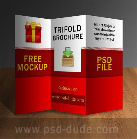 brochure design psd templates free tri fold brochure psd free template psddude