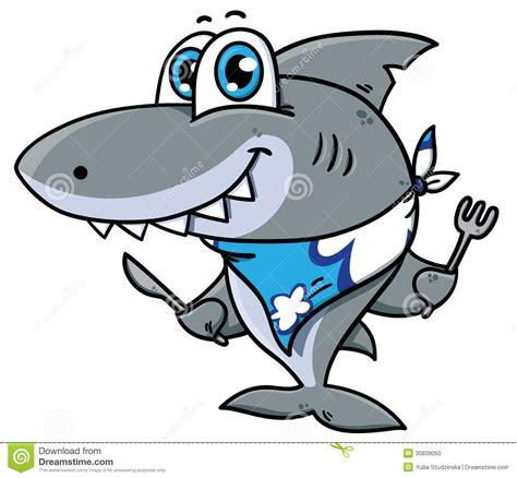 baby shark vector cute cartoon shark stock vector illustration of adorable