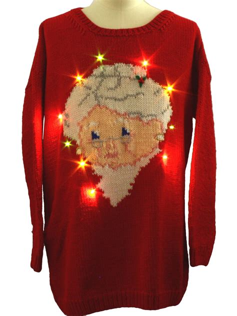 images of ugly christmas sweaters homemade lightup ugly christmas sweater homemade knitted by