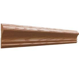 chair rails lowes shop evertrue 5 8 quot x 2 5 8 quot x 12 stain grade oak
