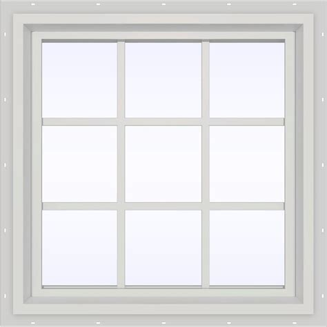 what is a window jeld wen 23 5 in x 23 5 in v 4500 series fixed picture