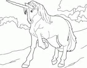 De Unicornio Colouring Pages sketch template