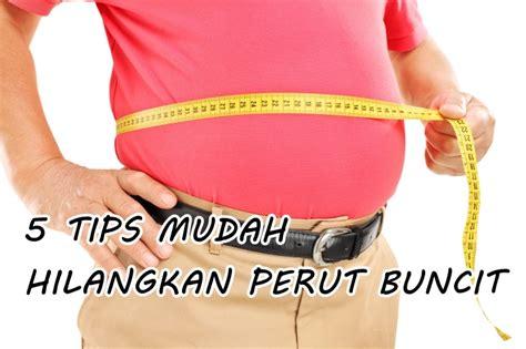tips mudah hilangkan perut buncit  nampak slim