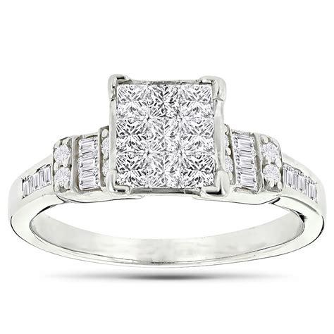beautiful  gold diamond engagement ring ct ladies diamond