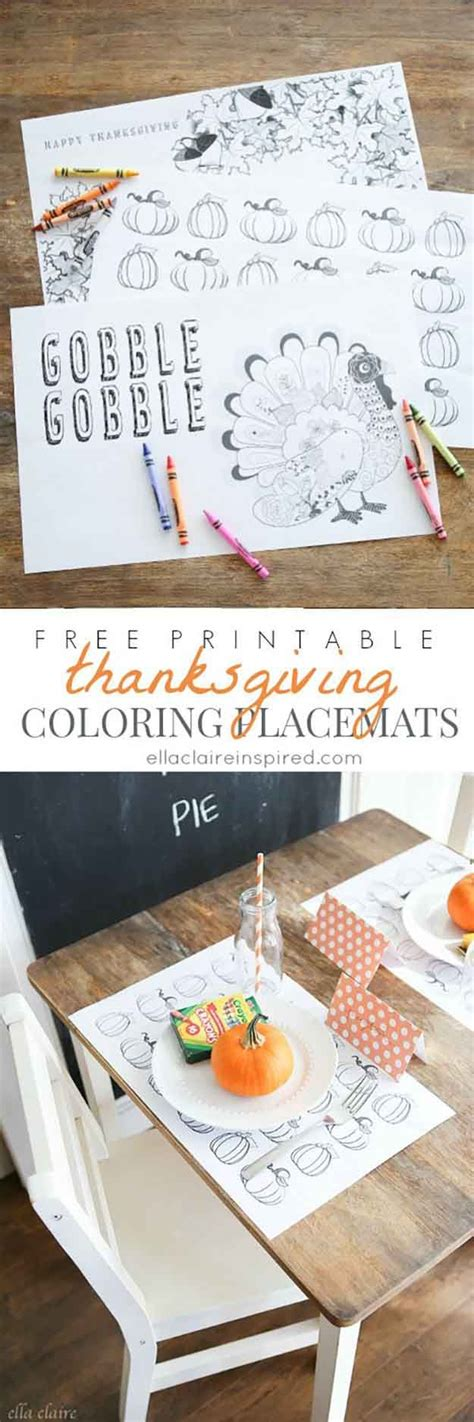 homemade thanksgiving decorations for the home homemade thanksgiving placemat ideas coloring homemade