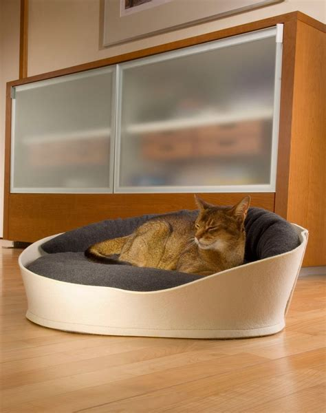 unique cat beds designer cat beds comfortable pet products made from felt