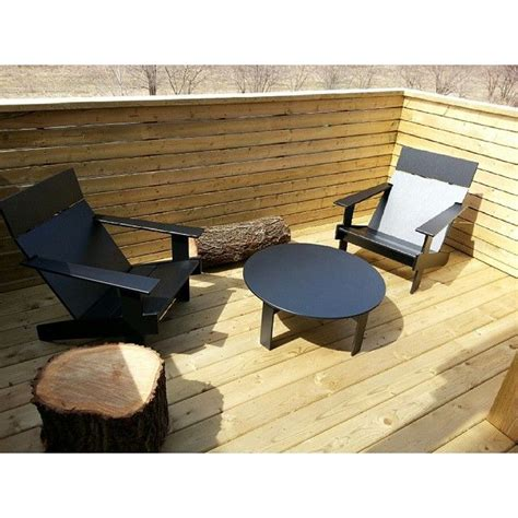 patio furniture made from recycled plastic milk jugs