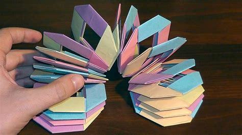 How To Make Cool Paper Toys - free coloring pages origami slinky a cool of paper