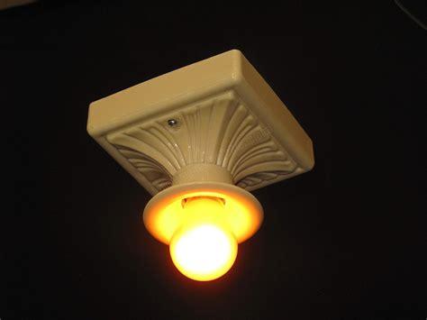 yellow light fixture yellow porcelain fixture