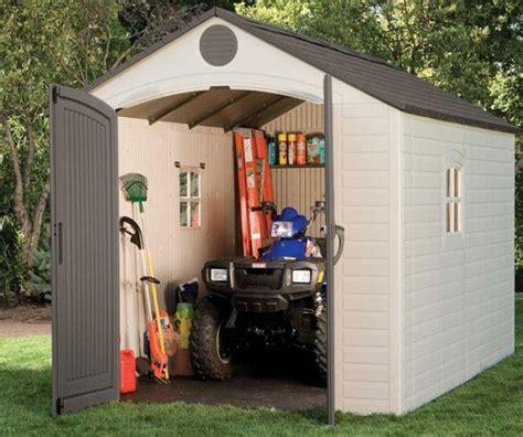 lifetime 6402 8 x 12 5 storage shed storage shed reviews