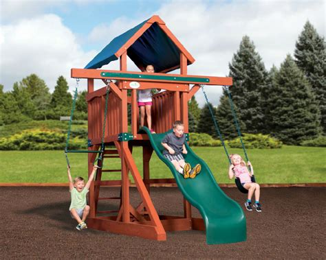 the best outdoor play sets for small large yards the