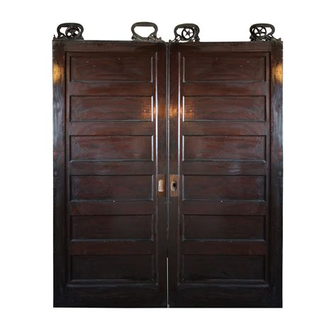 Pocket Doors For Sale by Salvaged Pair Of Oak Pocket Doors 6 Across Ned241 Rw For