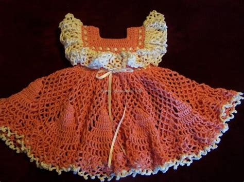 Handmade Baby Frocks Designs - crochet baby dress patterns for free upcycle