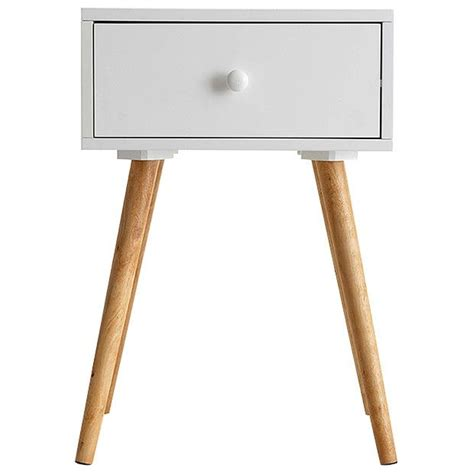 side table target side table with single drawer white drawers target