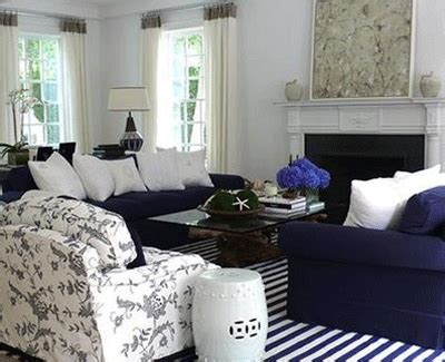 Blue And White Living Room Decorating Ideas Floor And Windows Striped Fabrics Room Decorating Ideas With Stripes