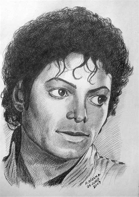 imagenes de retratos realistas michael jackson retrato taringa
