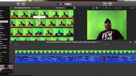 tutorial imovie green screen how to use imovie with 2014 yosemite to make a green