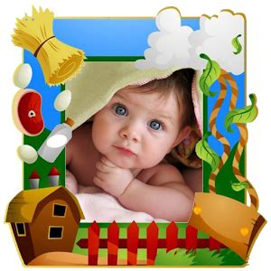funny kids photo frames android apps on google play
