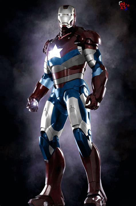 Ironman Patriot Tideway iron patriot by mrhardstone on deviantart