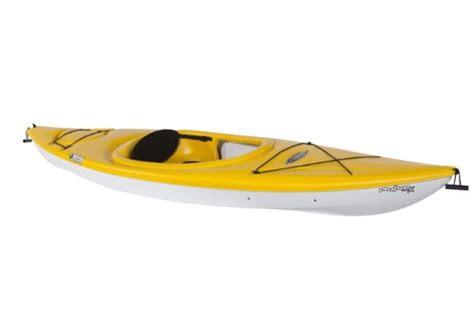 yellow kayak books pelican pulse 100 deluxe kayak fade yellow white yel