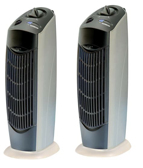 2 two new air purifier carbon ionic ionizer negative fresh ions pro uv ebay