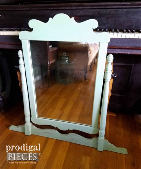 Where Can I Buy A Vanity Mirror With Lights by Vintage Vanity Painted Tea Pink Prodigal Pieces