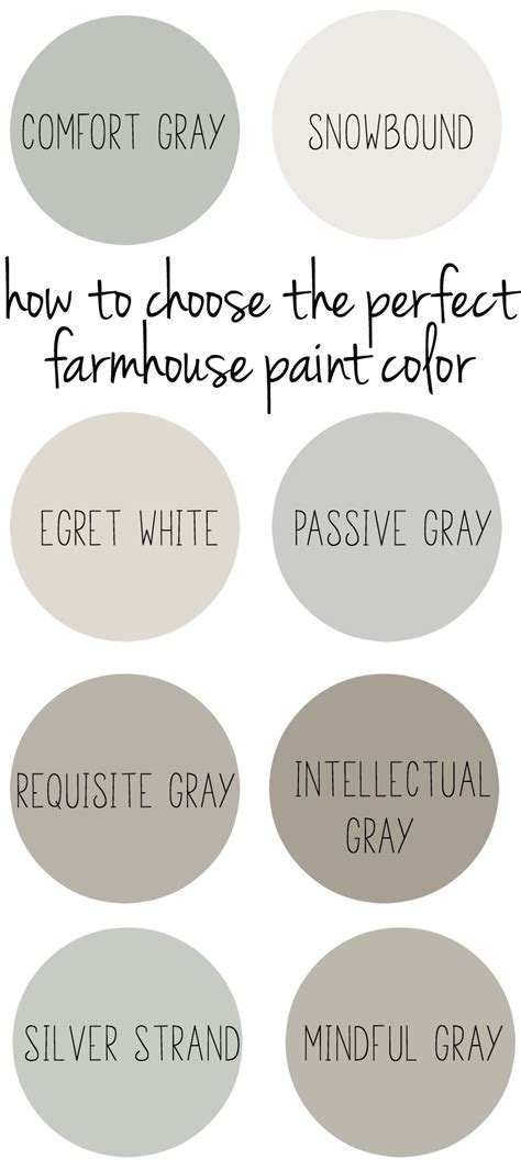 choosing the perfect warm paint colors to make the employees to work better modern home design how to choose the perfect farmhouse paint colors