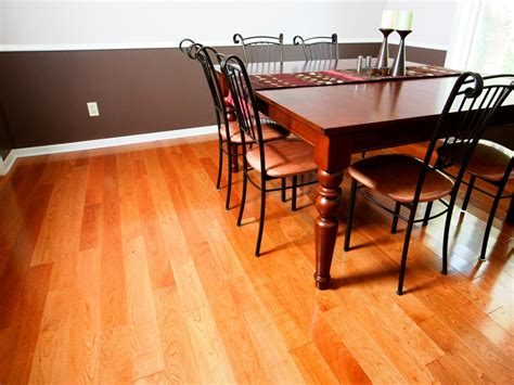 Hardwood Flooring Dining Room How To Install Prefinished Solid Hardwood Flooring How