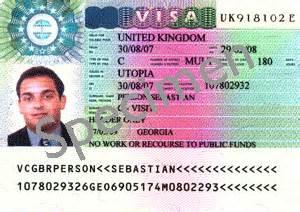 uk visa from