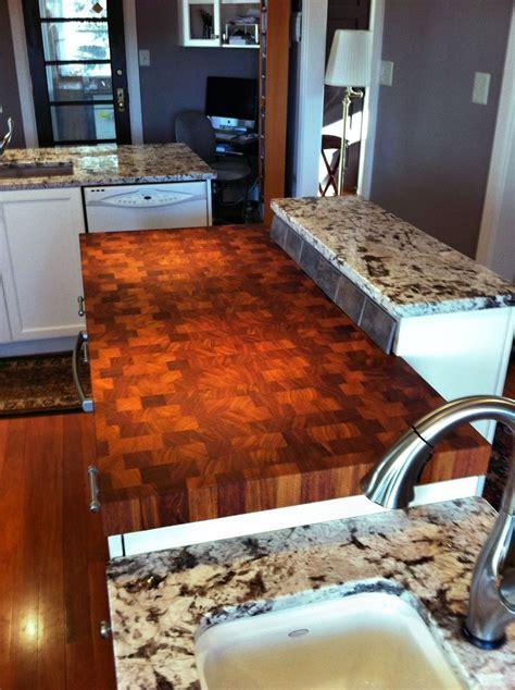 custom bar tops countertops custom solid wood end grain jatoba counter top custom butcherblock tops pinterest solid
