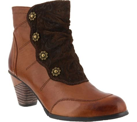 l artiste boots step l artiste leather ankle boots belgard