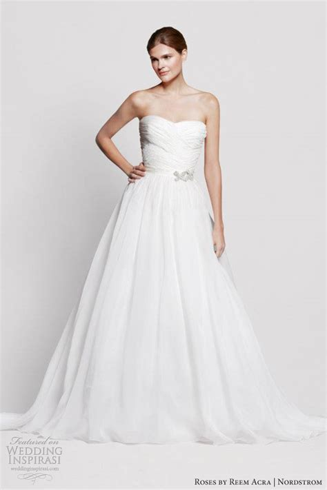 wedding dress nordstrom roses by reem acra for nordstrom wedding dresses wedding inspirasi