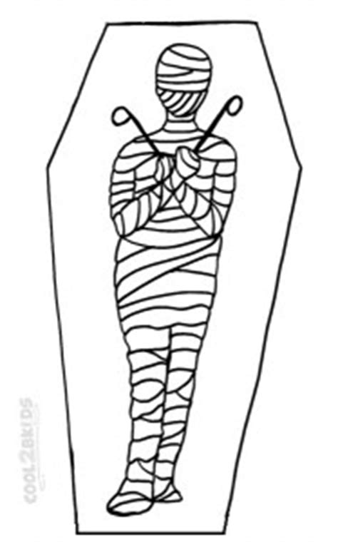 Printable Mummy Coloring Pages For Kids | Cool2bKids