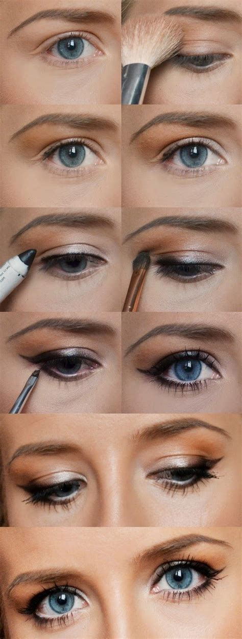 tutorial eyeliner simple pinterest