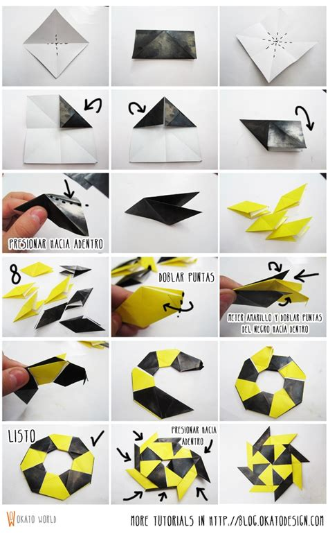 Origami Shuriken 8 Point - origami shuriken 8 point 28 images origami
