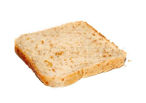 carbohydrates 1 slice bread a slice of whole grain bread stock photo colourbox