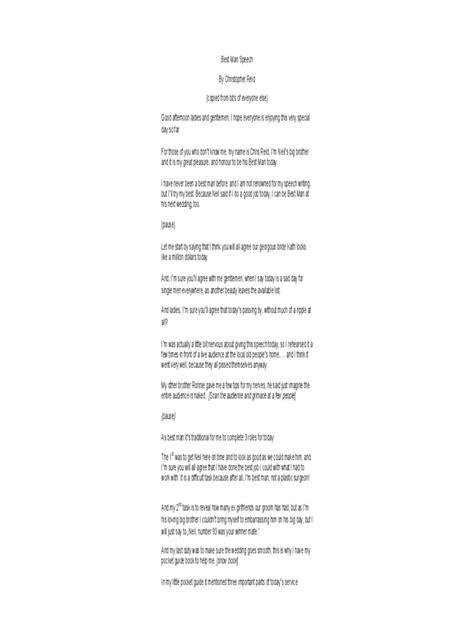 best man speech exles 3 free templates in pdf word