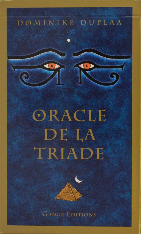 libro triada predestinacion triad oracle of the triad or 193 culo de la tr 205 ada museo del tarot