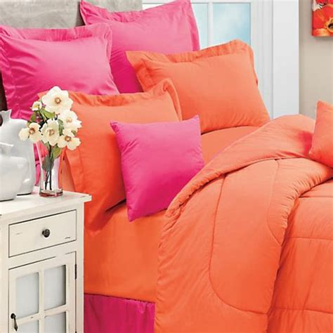 orange twin bedding new coral orange twin single bed comforter bright