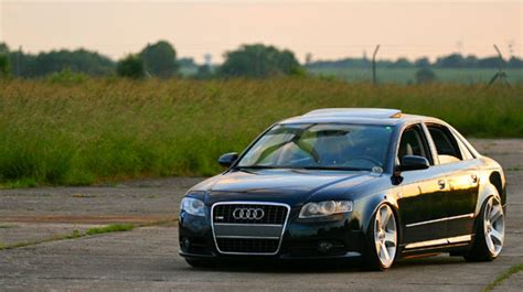 Modified Audi A4 Fast Car