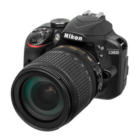 nikon d3400 af s dx 18 105 vr noir appareil photo