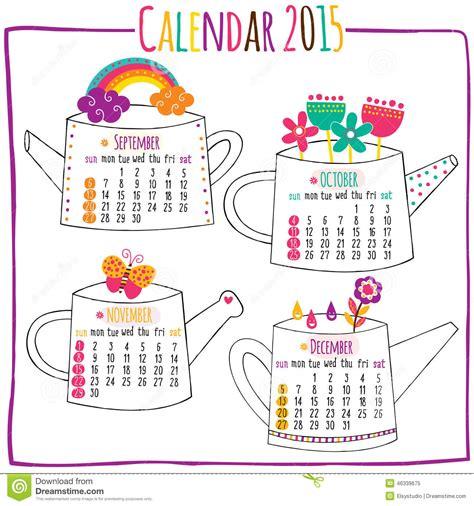 Calendar 2015 October November December Calendar 2015 September October November December Stock
