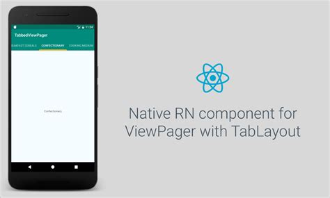 design pattern react native react native ui component for viewpager with tablayout