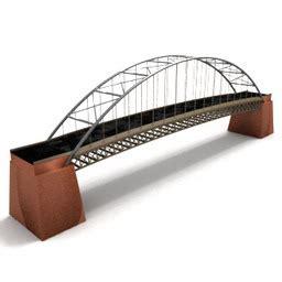 Interior Handrails For Stairs 3d Bridges Suspension Bridge 3d Model For Interior 3d