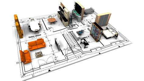 3d planning architectural wallpaper 1920x1080 46950